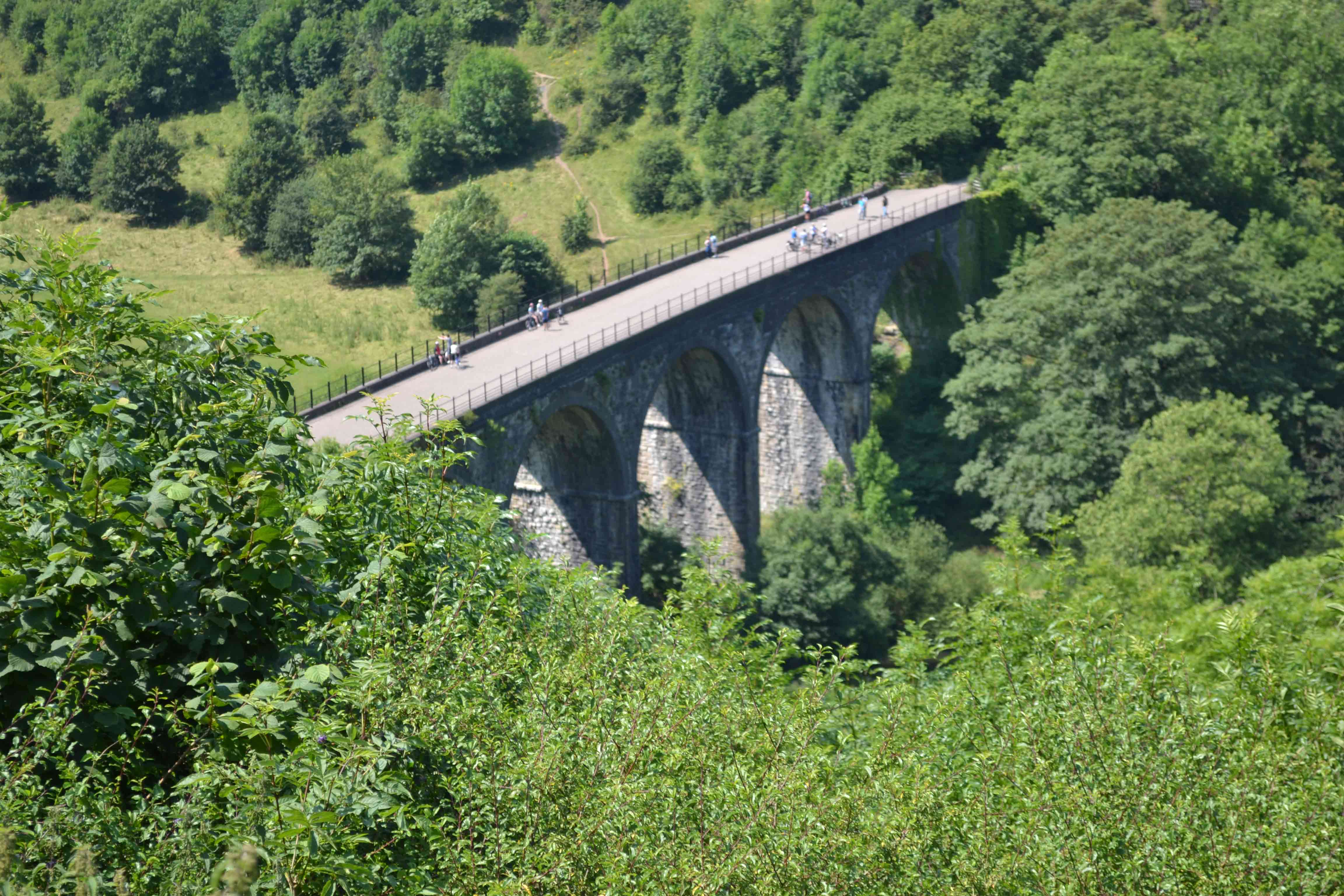 A Classic View of Headstone Viaduct